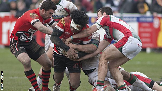Plymouth Albion vs Cornish Pirates