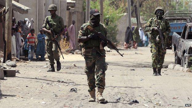 AFP Nigerian soldiers