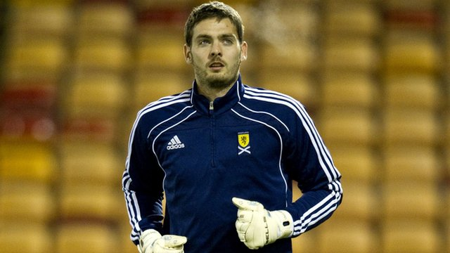 Scotland goalkeeper Craig Gordon