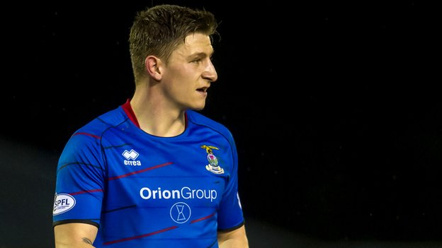Inverness Caledonian Thistle defender Josh Meekings