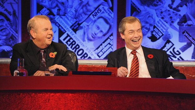Nigel Farage on Have I Got News For You in 2012