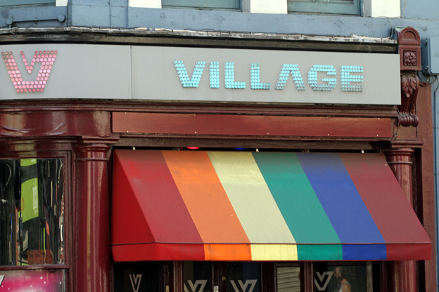 Village gay bar