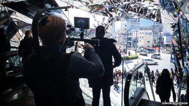 Simon Bouisson and Ludovic Zuili film Tokyo Reverse