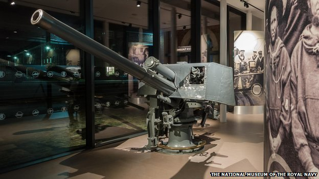 The gun from HMS Lance