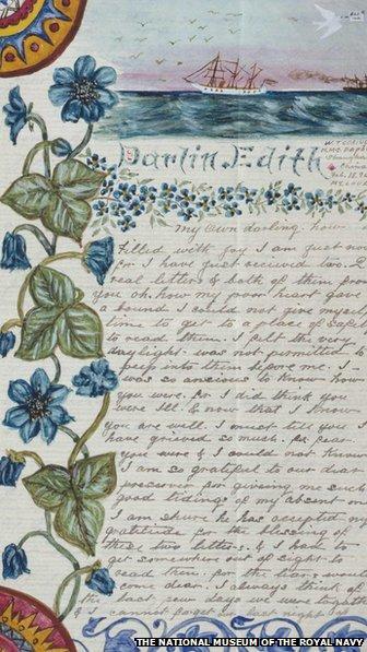 Letter sent by Walter Grainger