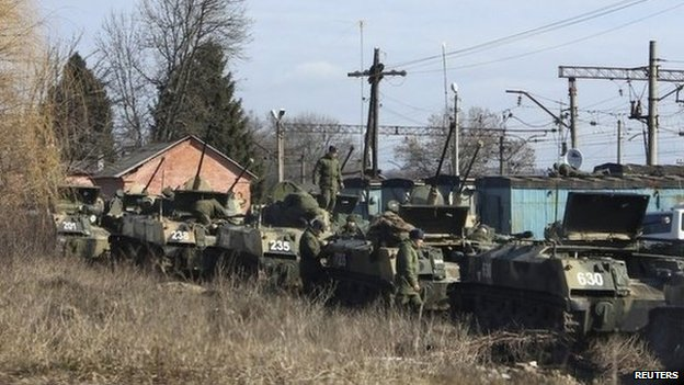 NATO Killers Readying To  Cleanse Russians In Ukraine?