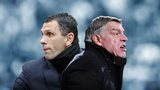 Gus Poyet and Sam Allardyce