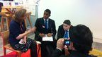 Petchey Academy pupils grill Mary Hockaday about how the BBC keeps its website safe