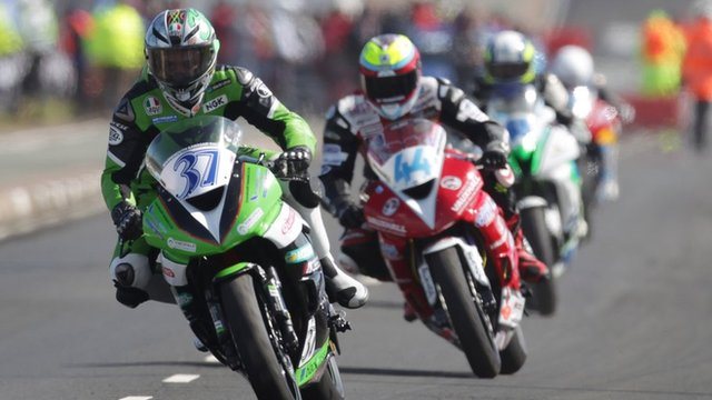 Racing at the North West 200