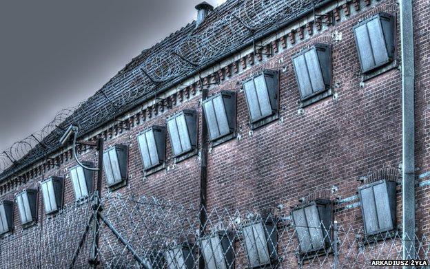 A prison in Poland