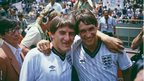 Peter Beardsley and Gary Lineker