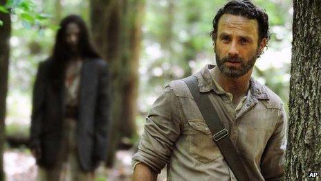 Andrew Lincoln, series four of The Walking Dead