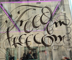 Freedom - written by 'modern-day scribe' Paul Antonio