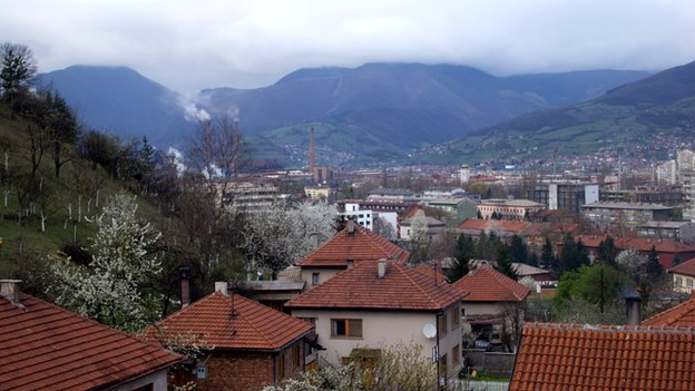 View of Zenica