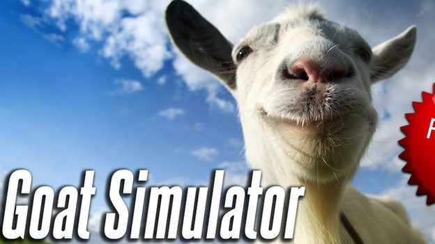 Goat Simulator screen grab