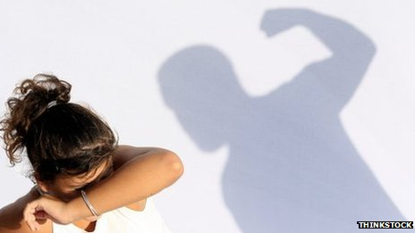 Domestic abuse. Picture: Thinkstock, posed with models