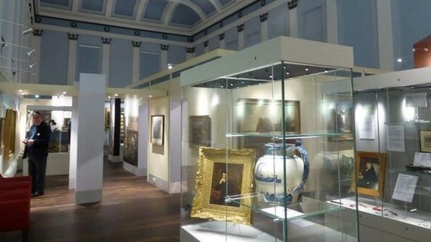 Inside new Shrewsbury museum and art gallery