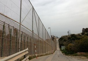The Melilla fence