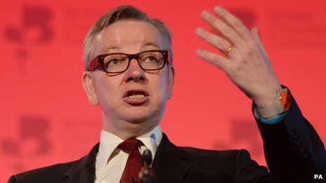 Michael Gove speaking at the British Chambers of Commerce annual conference