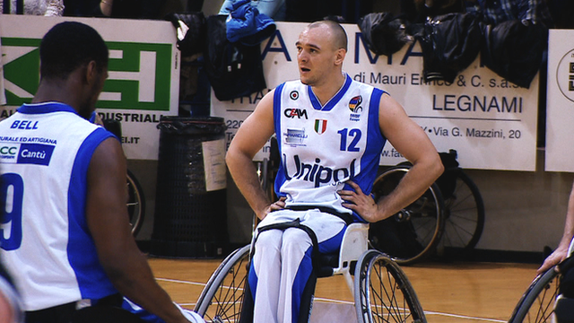 Wheelchair basketball: GB star Ian Sagar on life playing in Italy