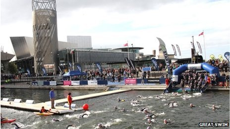 Great Swim Salford Quays