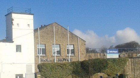 Rolls-Royce's Bankfield plant