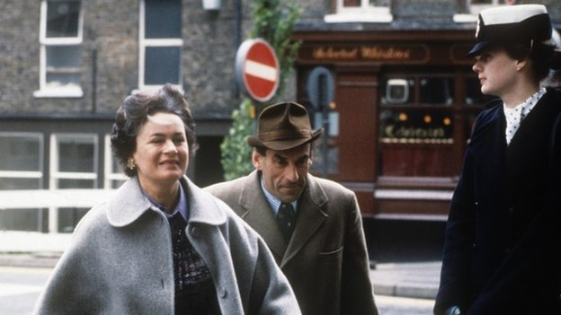 Marion and Jeremy Thorpe during his 1979 trial