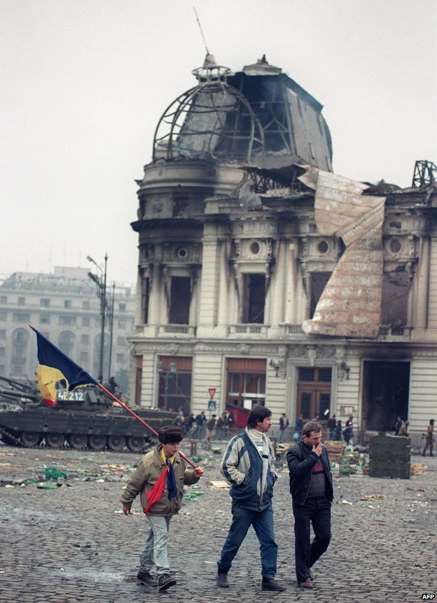Wreckage of Bucharest