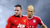 Wayne Rooney, Arjen Robben