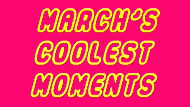 Russell Brand, Brian O'Driscoll and Ronnie O'Sullivan in March's coolest moments