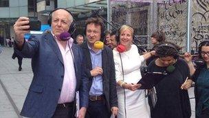 The FOOC presenters