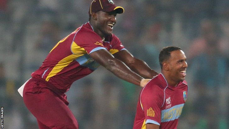 Darren Sammy and Smuel Badree