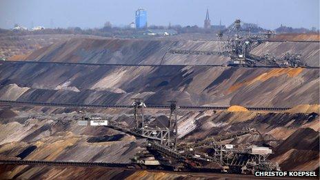 Garzweiler open-pit coal mine