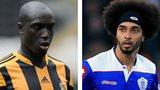 Yannick Sagbo and QPR loanee Benoit Assou-Ekotto