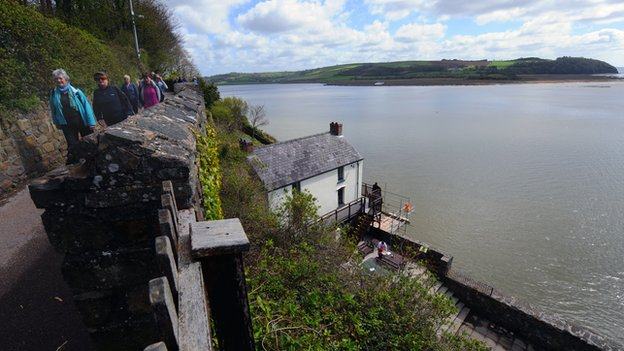 The Boathouse in Laugharne