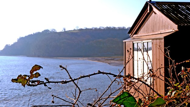 Shed at The Boathouse, Laugharne