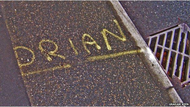 Drian marking