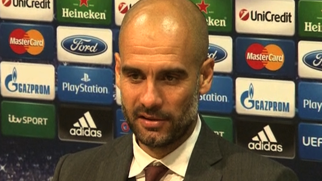 Bayern Munich manager Pep Guardiola assesses their Champions League result