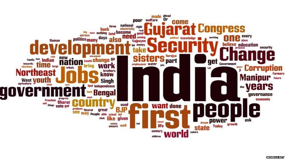 Narendra Modi's words