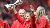 Liverpool Ladies celebrate title win