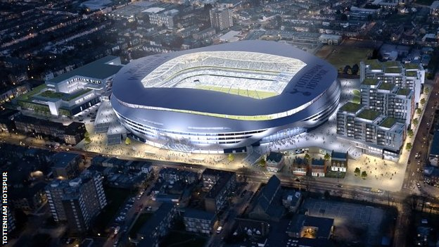 Tottenham's new stadium