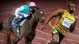 Frankel and Usain Bolt