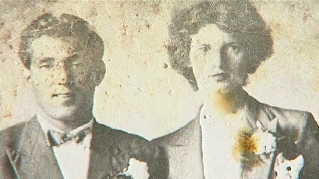 Eli and Gertrude Frankham