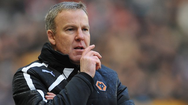 Wolves head coach Kenny Jackett