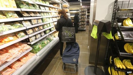 M&S store in France