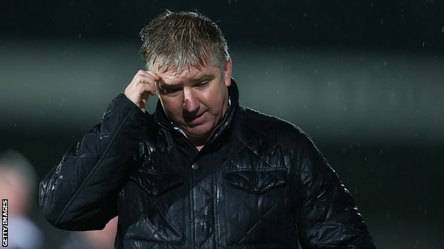 Martin Ling while Torquay United manager