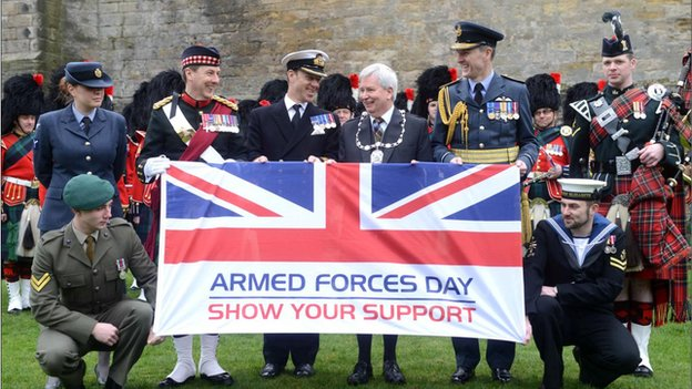 Armed Forces Day launch