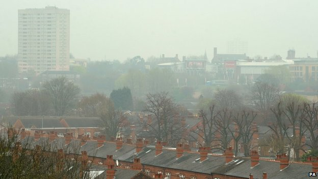 Air pollution in Birmingham