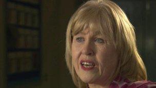 Carol McCann, principal of St Dominic's