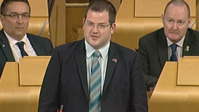 SNP MSP Mark McDonald